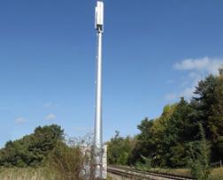 Comunicación GSM vías del ave