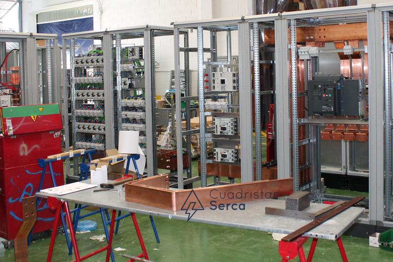 proceso de montaje de un cuadro eléctrico