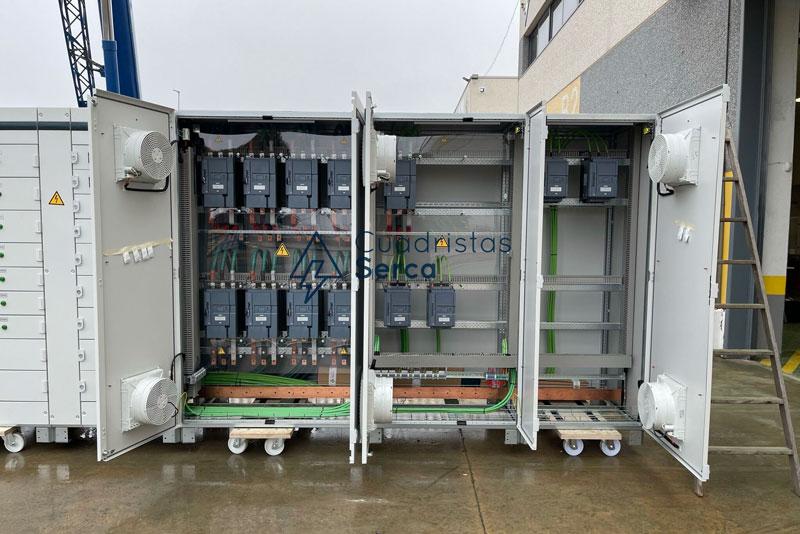 fabricación de 6 centros de control de motores