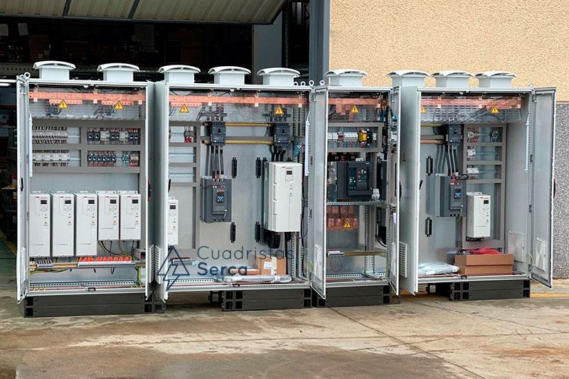 cuadro eléctrico para dar servicio HVAC